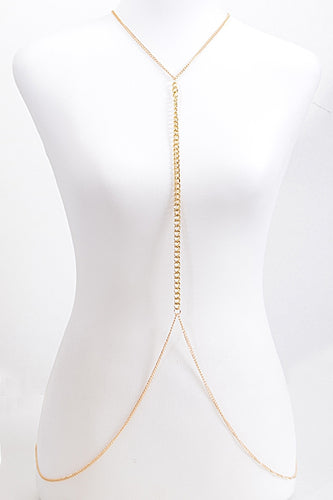Neck to Navel Body Chain