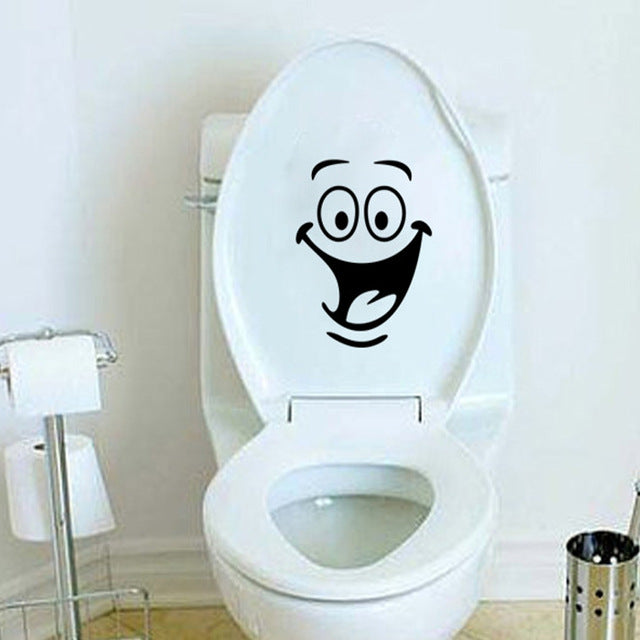 Waterproof Cartoon Toilet Sticker
