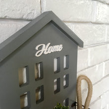 Wall Plaque with Storage Basket