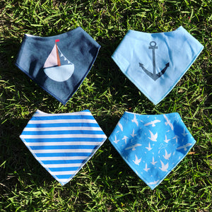 Sailor Pup Bandana 4-pack