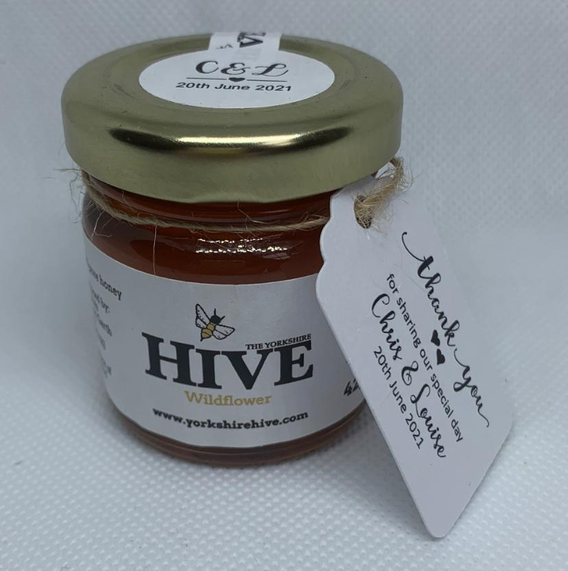 Yorkshire honey wedding favour