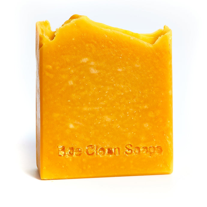 Carrot and honey natural soap