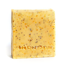 Load image into Gallery viewer, Natural lemon, rosemary and poppyseed soap