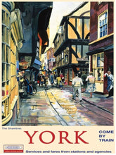 Load image into Gallery viewer, York Shambles - mini metal hanger
