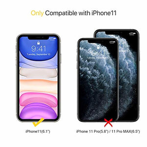 Miracase Liquid Silicone Case Compatible with iPhone 11 6.1 inch(2019), Gel Rubber Full Body Protection Cover Case Drop Protection Case (Navy Blue) - Redpepper Cases