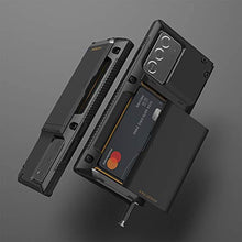 Load image into Gallery viewer, Galaxy Note 20 Ultra Premium Sturdy Credit Card Slot Wallet Case