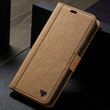 Load image into Gallery viewer, WHATIF Phone Case For iPhone Xs Max Luxury DIY Paper Leather 2 IN 1 Credit Card Magnetic For iPhone XS XR Wallet Detachable Case
