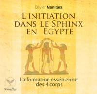 l'initiation dans le sphinx en Egypte