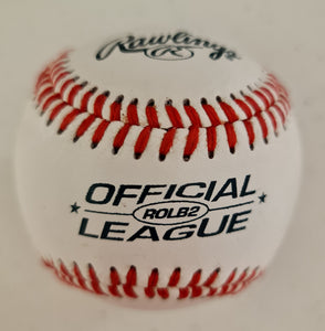 Edson Pele Autographed Official League Baseball COA #EP49735