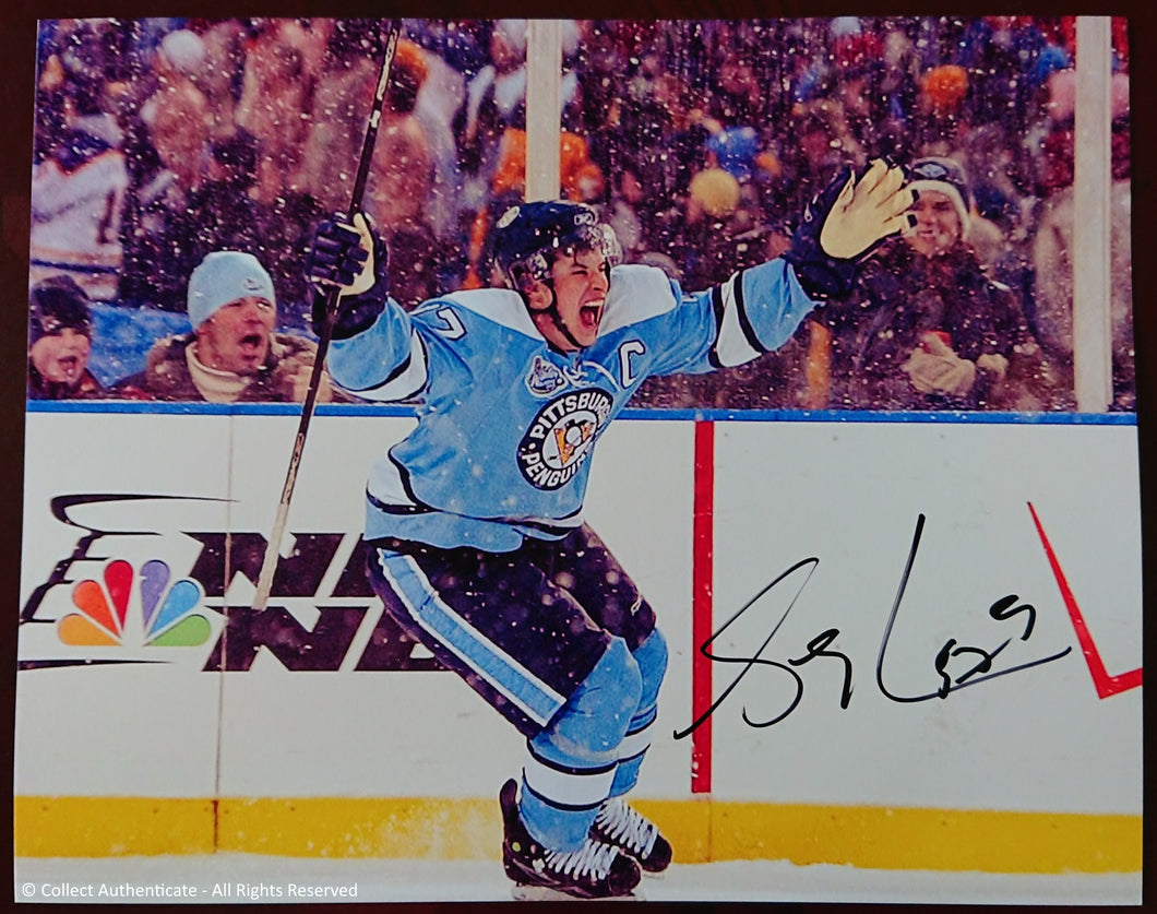 Autographed Signed Sidney Crosby Photo - COA #SS59835