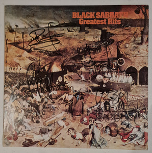 Black Sabbath Autographed 'Greatest Hits' Album COA #BS67472