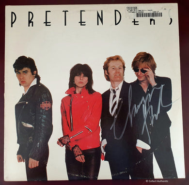 Chrissie Hynde autographed Record Album The Pretenders COA #CH78965