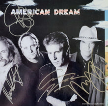 Load image into Gallery viewer, Crosby, Stills, Nash & Young all 4 Autographed American Dream Album COA #GY98674