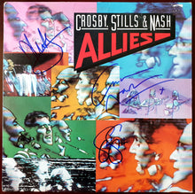 Load image into Gallery viewer, Crosby, Stills & Nash all 3 Autographed Allies Album COA #GN26894