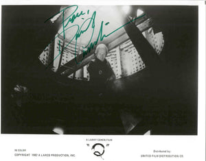 "David Carradine - Autographed ""Q"" Glossy 8x10 Photo - COA #DC58793"