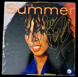 Donna Summer Autographed Self Titled LP COA #DS43987