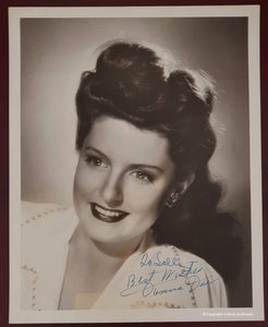 Donna Dae Autographed Vintage Glossy 8x10 Photo COA #DD47365