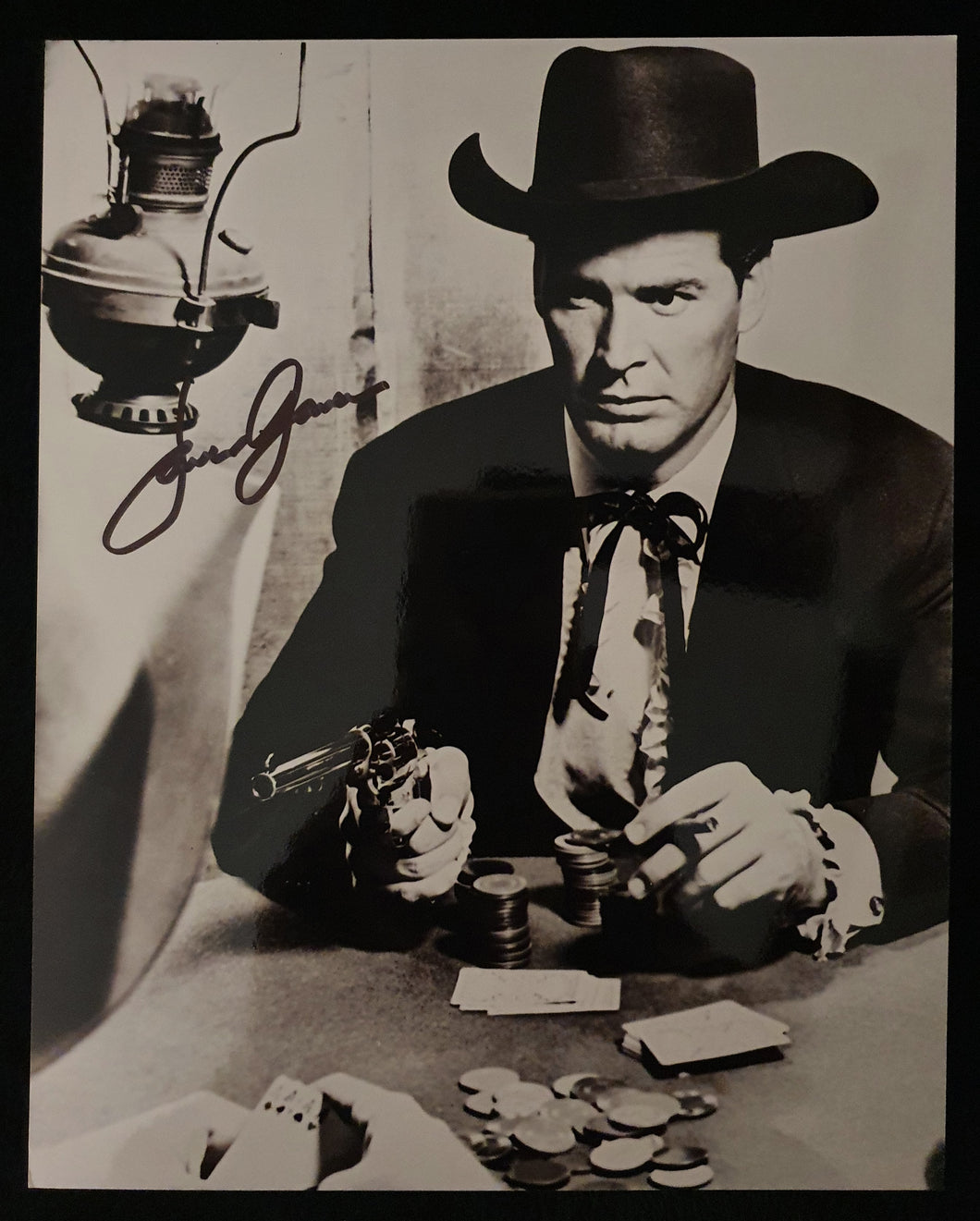James Garner Autographed 8x10 Photo COA #JG37964