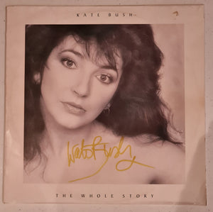 Kate Bush Autographed 'The Whole Story' Album COA #KB66452