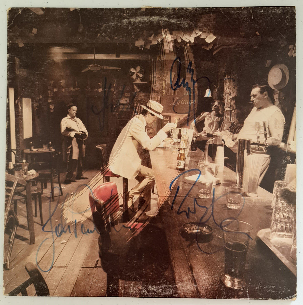 Led Zeppelin 'In Through The Out Door' Autographed LP COA #LZ34497
