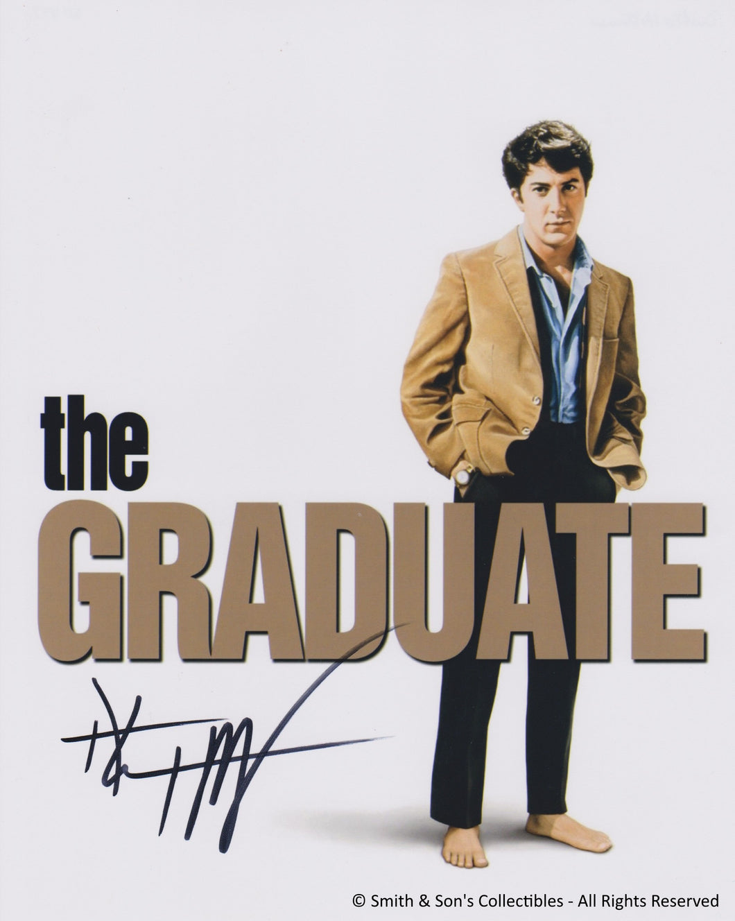 Dustin Hoffman - Autographed / Signed