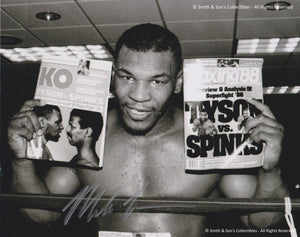 Mike Tyson - Autographed Signed