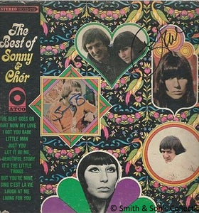 Sonny & Cher Autographed / Signed The Best of Sonny & Cher