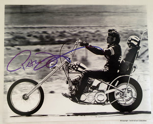 Peter Fonda Autographed 'Easy Rider' 8x10 Photo COA #PF98674
