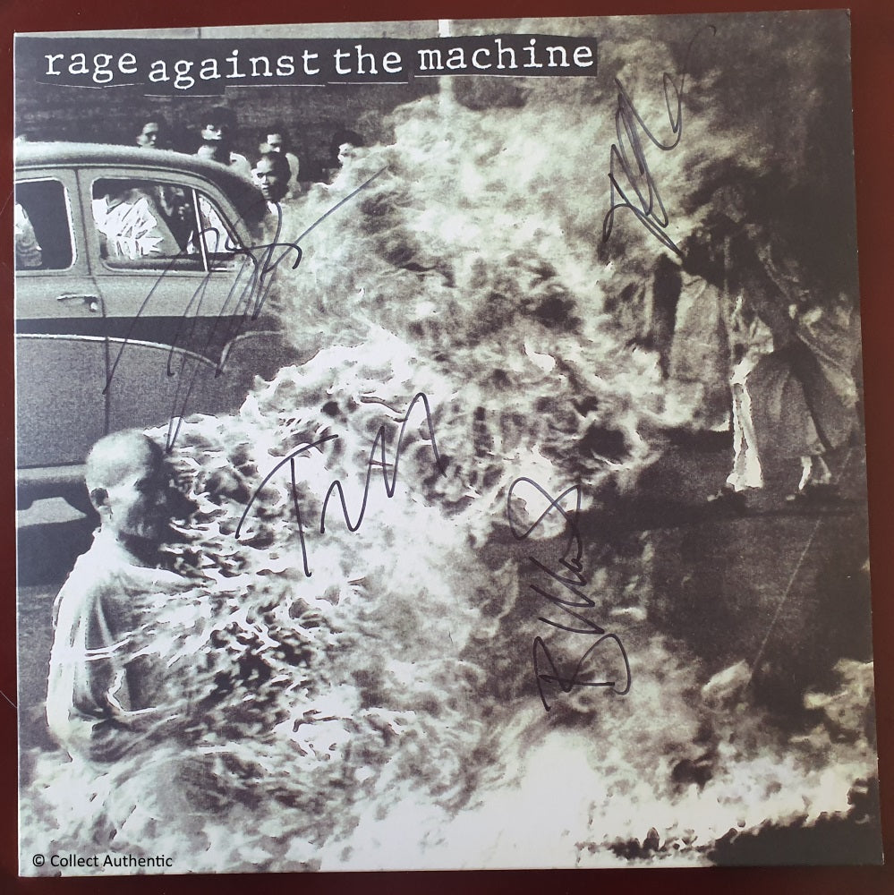 Rage Against the Machine All Autographs - COA #RM69734