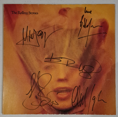 Rolling Stones Autographed 'Self Titled' Album COA #RS66444