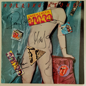 Rolling Stones 'Under Cover' Fully Autographed LP COA #RS11245