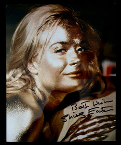Shirley Eaton Autographed Goldfinger 8x10 Photo COA #SE43864