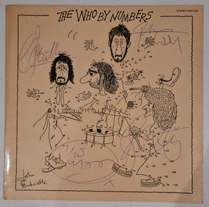 The Who Autographed 'By Numbers' Album COA #TW61452