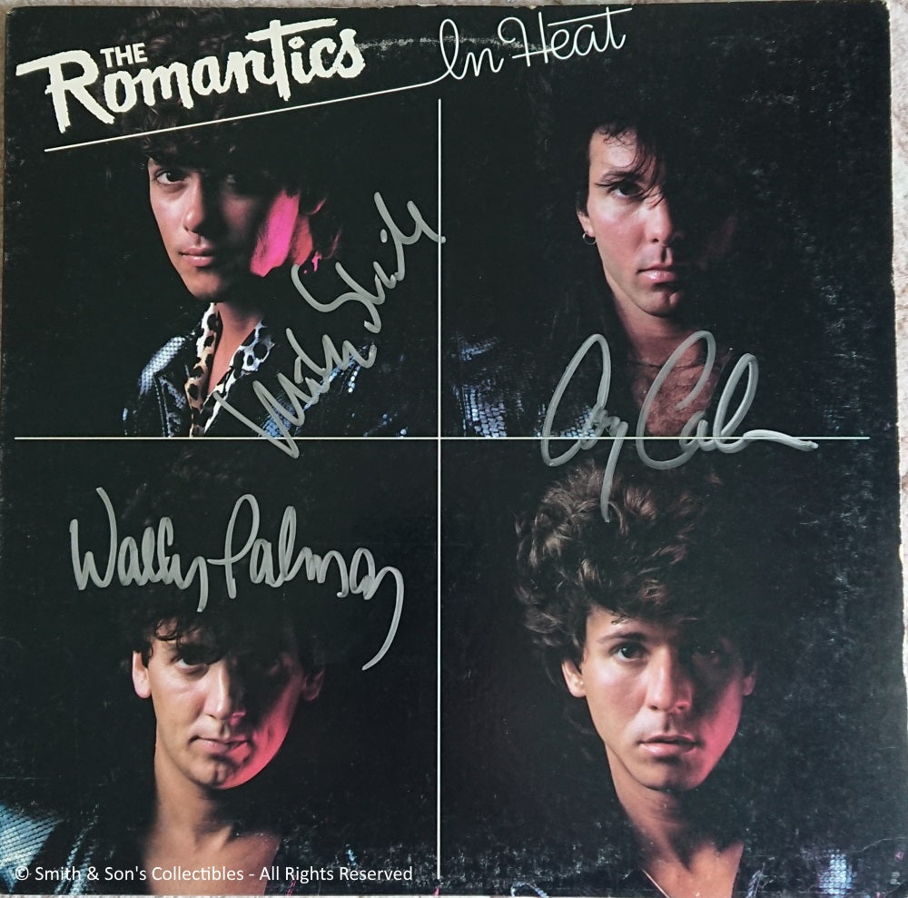 The Romantics - Autographed / Signed