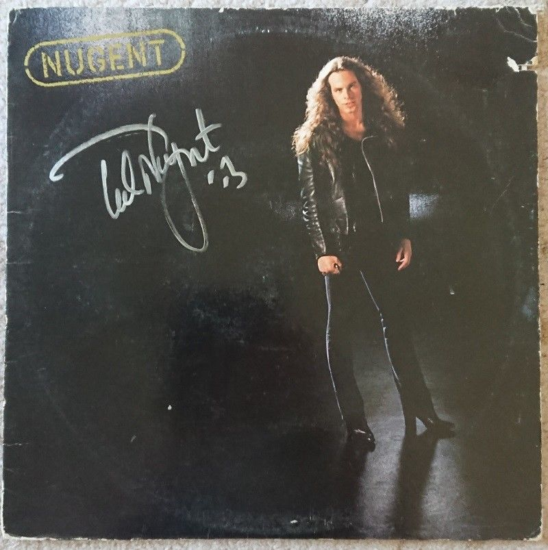 Album Personally Signed by Ted Nugent-Smith & Son's Collectibles