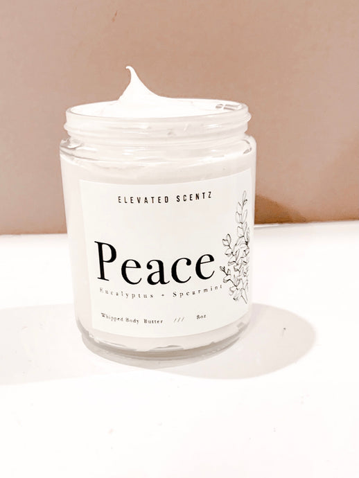 Peace Whipped Body Butter- Limited Edition