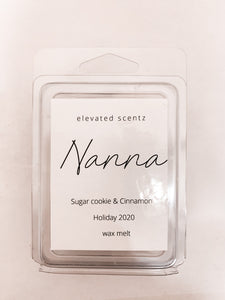 Nanna- Holiday 2020 Wax Melt