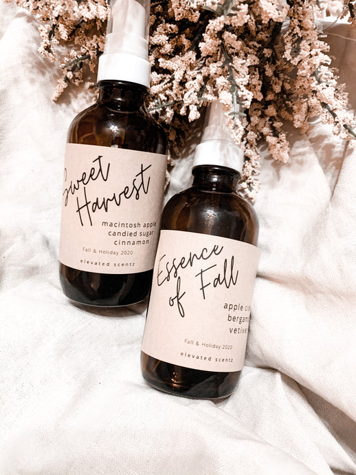Air + Linen Mists  Fall/Holiday 2020
