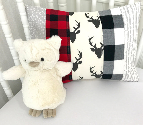 Lumberjack Buffalo Plaid Pillow Cover