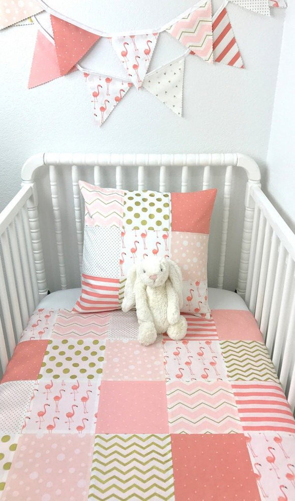 Flamingo Baby Blanket - CLEARANCE