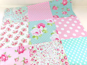 Shabby Chic Lovey Blanket