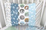Zoo Animal Pillow Cover