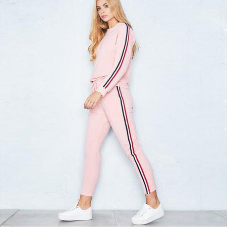 FAME Striped Sweatsuit