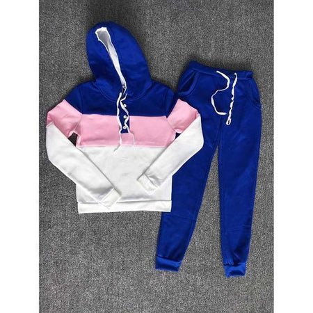 Button Hoodie Sweatsuit