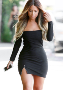 Shoulder Bodycon