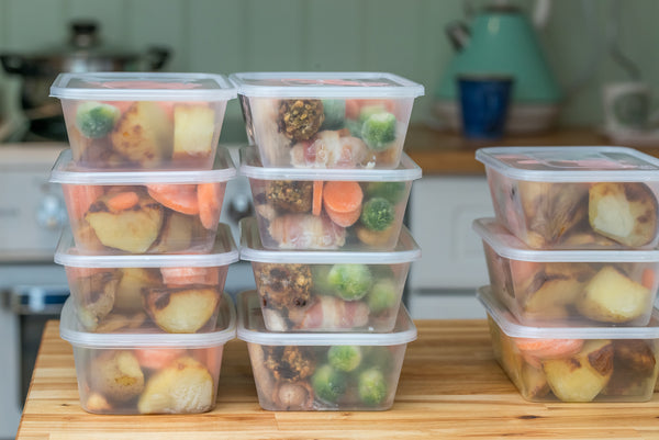 How to Be Healthy on the Go - Stock up on Food Containers