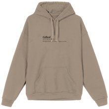 Load image into Gallery viewer, Gifted Definition Hoodie - Beige