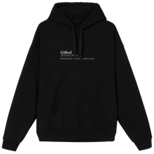 Load image into Gallery viewer, Gifted Definition Hoodie - Black