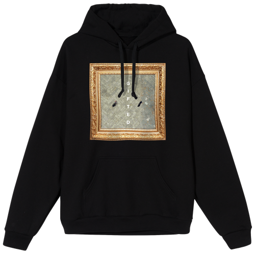Gifted Cover Hoodie - Black