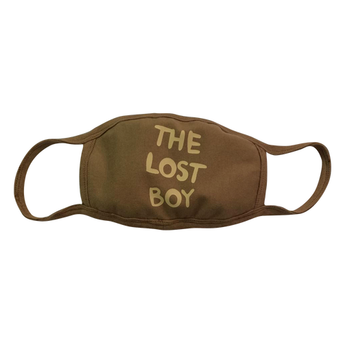 Lost Boy Facemask - Brown